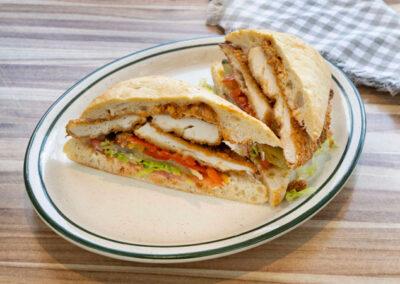 Classic Schnitzel Sandwich